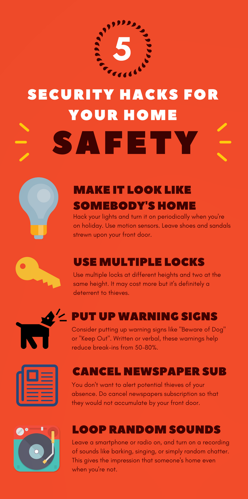 how to keep your home safe from break ins