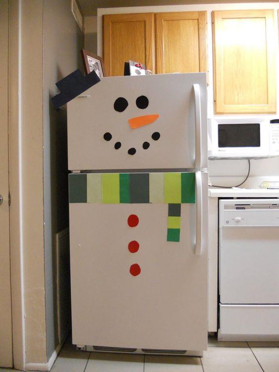 Холодильник своими руками в доу 48